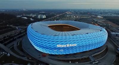 Allianz arena saksa munchen pelipaikat
