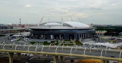 St petersburg stadium pietari venäjä Krestovsky Stadium