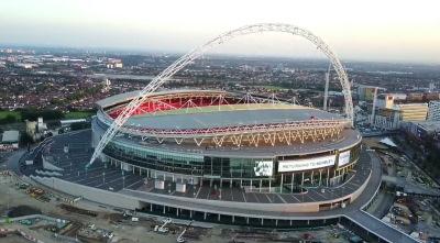 Wembley Stadium Englanti Lontoo pelipaikat