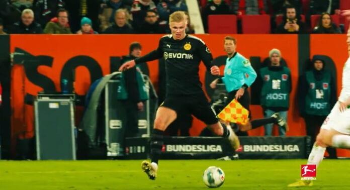 Erling Braut Håland Dortmund norja bundesliiga