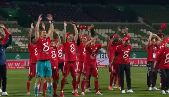 Bayern München Bundesliiga mestari