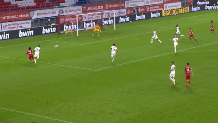 Bayern München frankfurt saksan cup bundesliiga