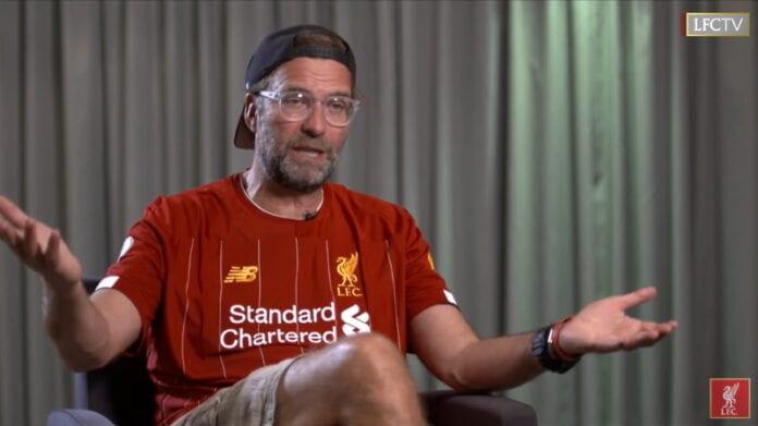 Jürgen Klopp Liverpool - Tottenham Valioliiga