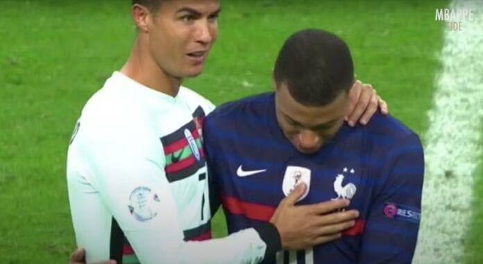 Kylian Mbappé ja Cristiano Ronaldo