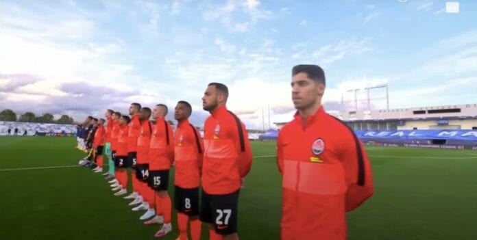 Shakhtar Donetsk Real Madrid jättiyllätys mestarien liiga