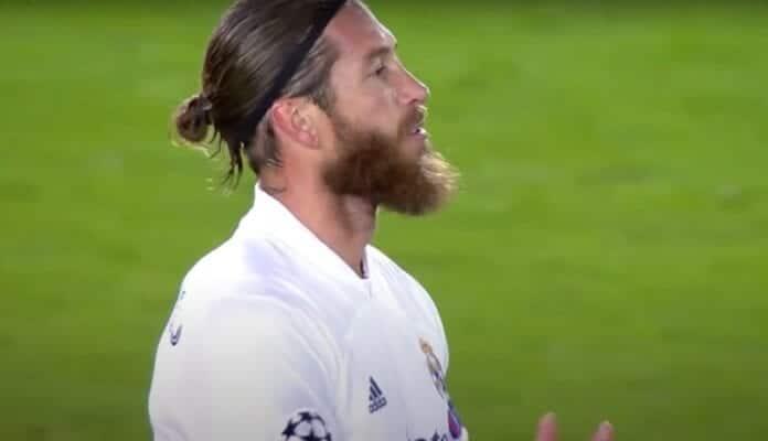 Sergio Ramos 100 maalia rajapyykki real madrid mestarien liiga