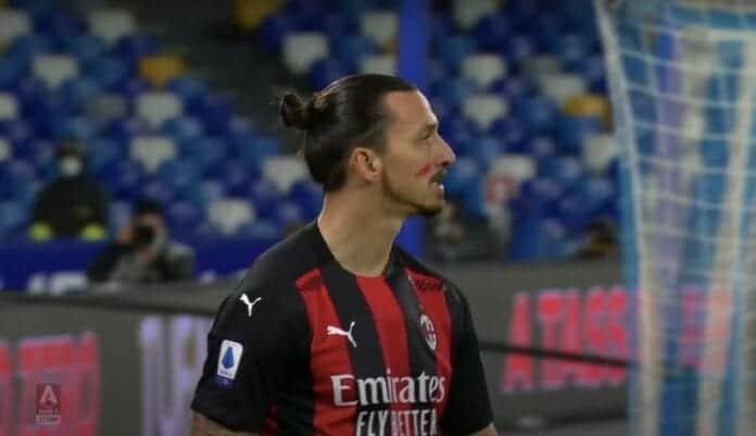 Zlatan Ibrahimovic maalipörssin kärkeen Serie A AC Milan sarjataulukon kärkeen