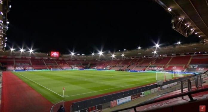 Southampton - Liverpool Valioliiga maanantai-illan kalina