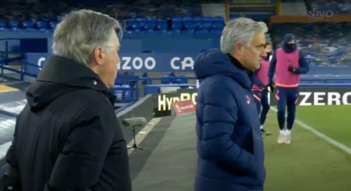 Everton - Tottenham maalijuhla