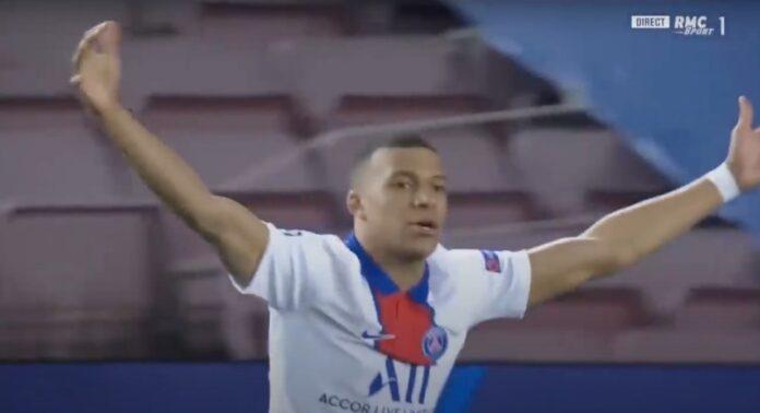 PSG voitti Barcelonan Kylian Mbappe kolme maalia
