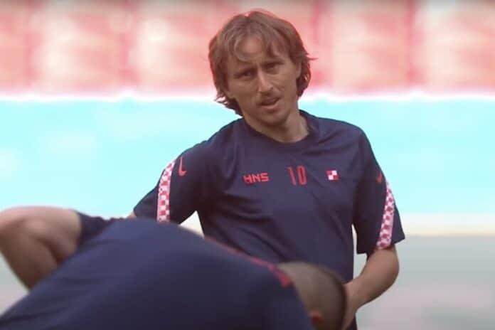 Luka Modric Kroatian EM-joukkue 2021